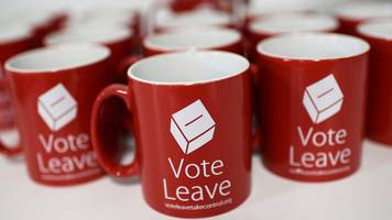 vote leave: brexit campaign 'broke electoral law' in referendum