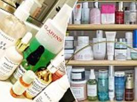 how the rise of the bathroom shelfie on instagram has led to scramble for must-have beauty products