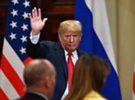 trump defends himself on putin in emergency statement after his own party leaders condemn him