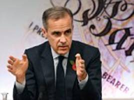 mark carney warns no deal brexit would have 'big consequences'