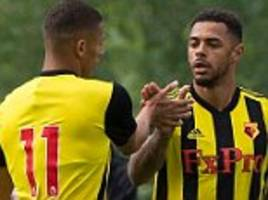 cologne 1-1 watford: andre gray's early strike one of few positives during first pre-season friendly