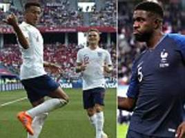 from antoine griezmann's fortnite dance to electric chains: the top 10 world cup celebrations