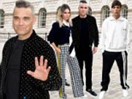 x factor line-up confirmed: robbie williams, wife ayda field and one direction's louis tomlinson