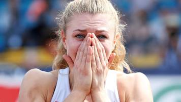 'i thought i was going to die' - british champion dobbin on seizure that left her unable to walk or talk