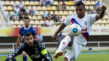 Rangers progress in Europa League after goalless draw