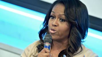 michelle obama speaks out in edinburgh