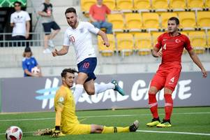 nottingham forest's ben brereton nets as england under-19s begin euros with win