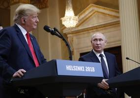[update] trump tries to calm political storm over putin summit, says he misspoke