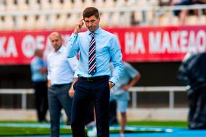 Steven Gerrard concerned by Rangers 'real lack of quality' in front of goal as Ibrox men edge past Shkupi