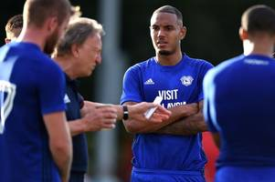 why kenneth zohore missed cardiff city's game against tavistock and when sol bamba and aron gunnarsson will feature