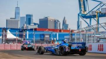 Formula E Racing Takes New York, Looks to No-Car-Swap Future