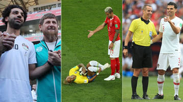 the bizarre and most memorable utter ridiculousness from the 2018 world cup