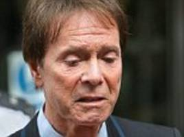 sir cliff watched tv in horror from algarve as raid unfolded at flat