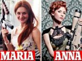 you've upstaged anna chapman: what kremlin handler told russian redhead accused of infiltrating nra
