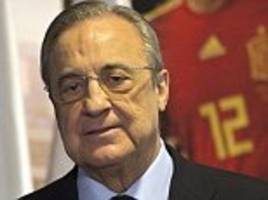 Real Madrid president Florentino Perez vows that his club will make major signings this summer
