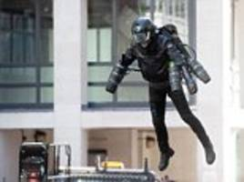 leaving on a jetsuit? selfridges offers chance to hover like 'iron man'