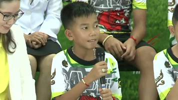 thai cave boys: 'this experience makes me stronger'