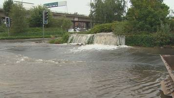 Glasgow road re-opens after burst water main caused flooding