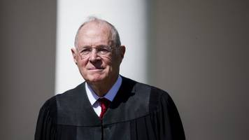 no, money laundering does not appear to be why justice kennedy retired