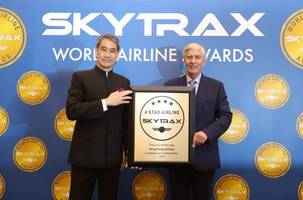 Hong Kong Airlines awarded Skytrax 4-star rating and named one of top 20 airlines in the world