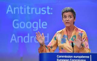 Brussels fines Google as the war continues
