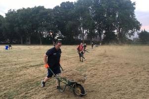 what an army of volunteers did after council left pitches unplayable ahead of bristol's biggest youth football tournament