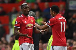 bayern munich to make bid for manchester united's £75m rated anthony martial as paul pogba contemplates juventus move