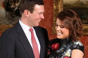 princess eugenie and jack brooksbank reveal new details about wedding