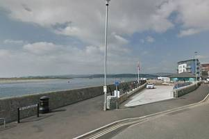 seawall at exmouth 'needs urgent works' ahead of winter storms