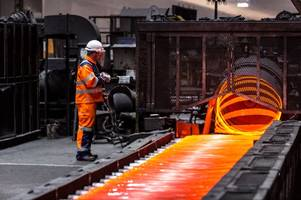 huge boost for scunthorpe as british steel announces biggest investment in manufacturing operations for a decade