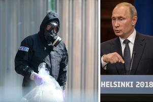 vladimir putin branded 'absurd' for denying russian responsibility for novichok death
