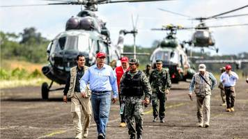 Peru arrests 50 in Colombia border drugs bust