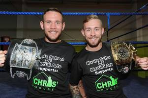 boxing brothers aiming to knockout stigma of mental health in wishaw and shotts