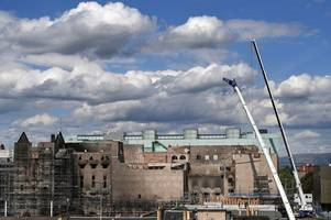 New pictures show dismantled sections of Glasgow School of Art as work to make area safe continues
