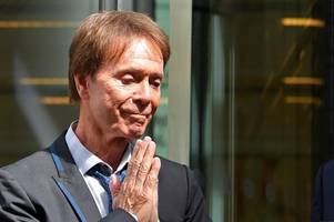 sir cliff richard wins huge payout from bbc after 'serious' privacy breach when police were filmed searching his home