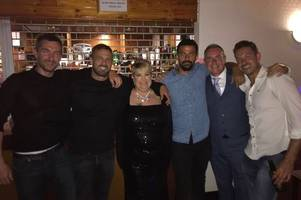 soap stars from corrie, hollyoaks and emmerdale help anita raise charity cash