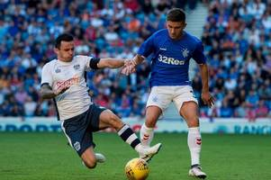 why declan john didn't travel with rangers to macedonia