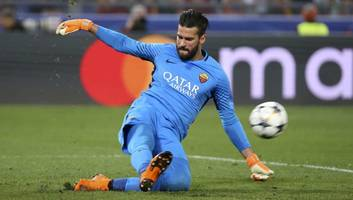 Liverpool Complete World Record Signing of Brazilian Goalkeeper Alisson From AS Roma