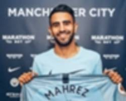 'guardiola will make £60m mahrez even better' - man city's record signing excites bellamy