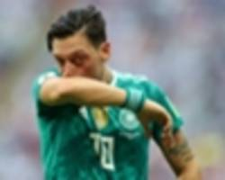 'Ozil wears Germany jersey with pride' - Demirbay hits back at critics of Arsenal star