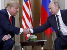 trump boasts he is going to meet putin again but warns the russian leader not to backstab him