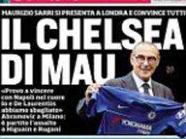 Chelsea owner Roman Abramovich 'in Milan to seal £89m double swoop'