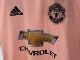 Manchester United's new pink away kit for 2018-19 'leaked'