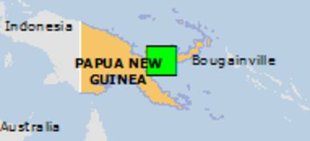 Green earthquake alert (Magnitude 5.8M, Depth:48.82km) in Papua New Guinea 19/07/2018 18:30 UTC, About 65000 people within 100km.