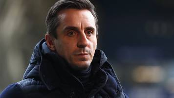 Neville and Accrington owner in Twitter row over Salford 'stealing' league place
