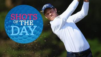 the open 2018: 'superb' danny willett & 'classy' rickie fowler in best shots