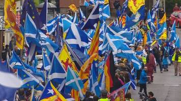 preparations for inverness scottish independence rally