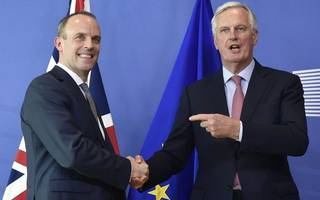 new brexit secretary to love-bomb businesses at chevening