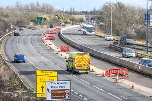 A52 towards Derby to be partially closed for a MONTH