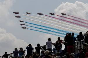 Eyes on the skies! Red Arrows to fly over Leicestershire on Friday